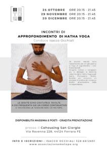 Approfondimento di Hatha Yoga - Isacco Occhiali